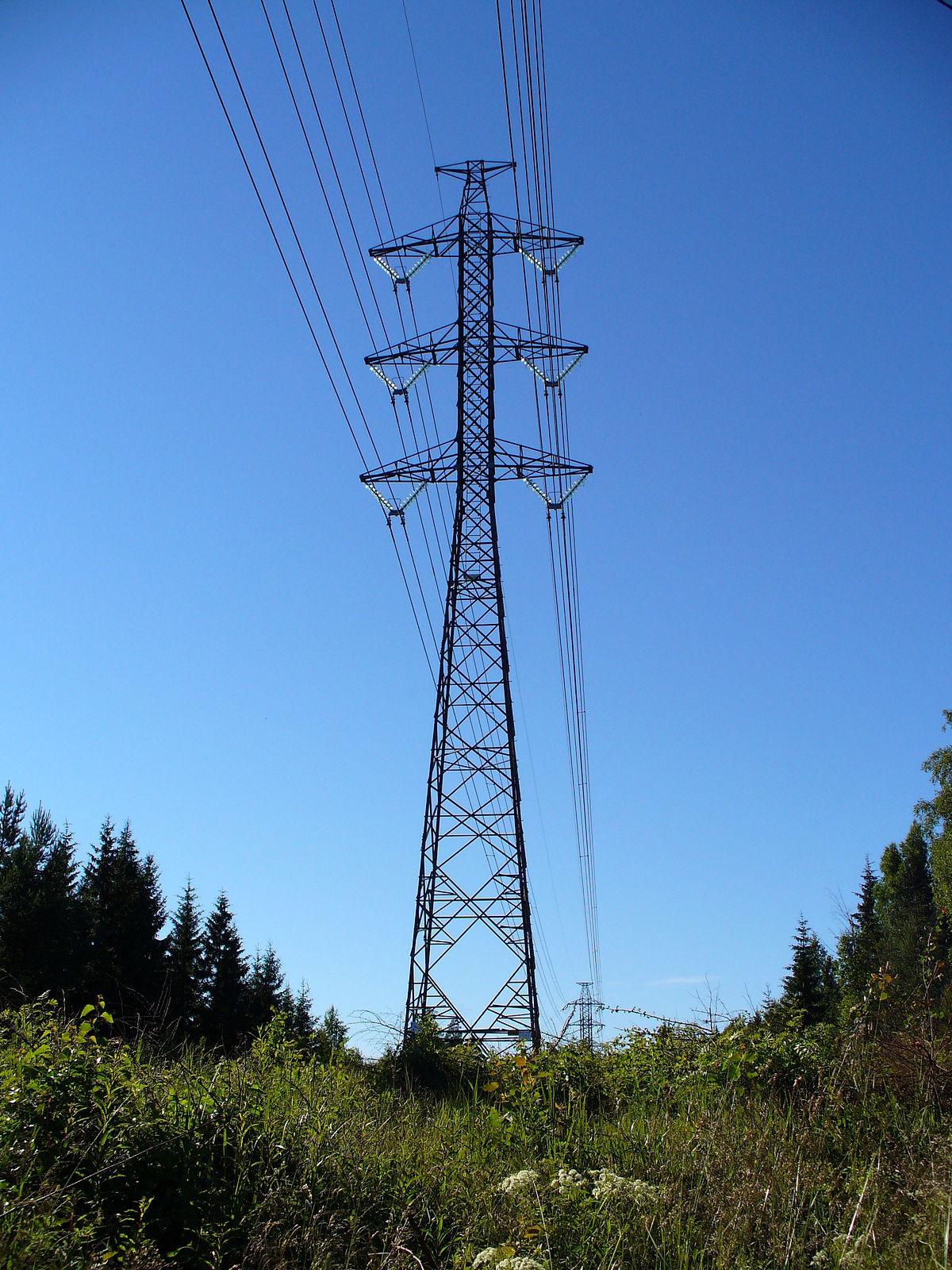 transmição de energia eletrica
