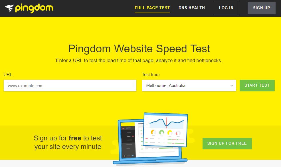 Ninguém gosta de um site lento - Pingdom speed test